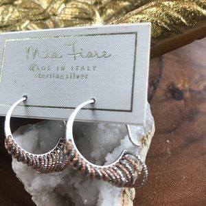 Mia Fiore Jewelry - Sterling Silver hoop earrings